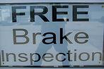 free brake inspections