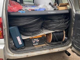 Сваляме стари и неизползвани кабели. За да стане Перник един по-приветлив град.