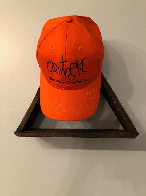 CowPoke Brand Texas Orange Hat