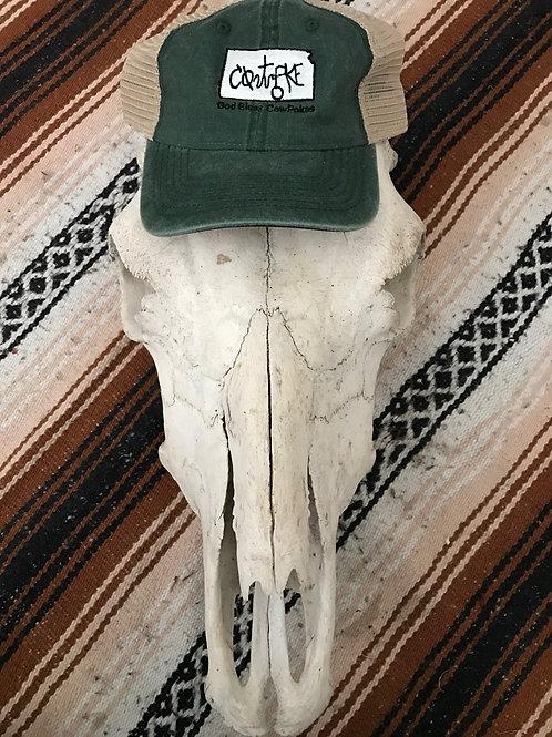Kansas Green CowPoke Hat