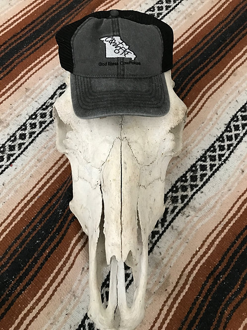 Missouri Black CowPoke Hat