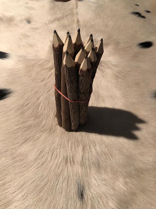CowPoke Handmade Real Tree Pencils