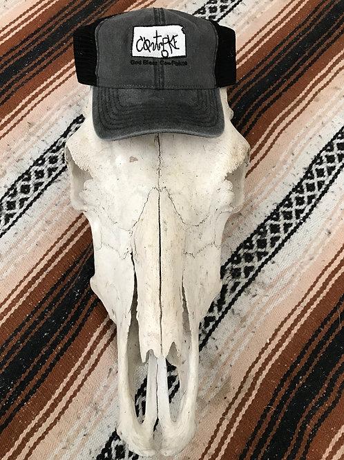 Kansas Black CowPoke Hat