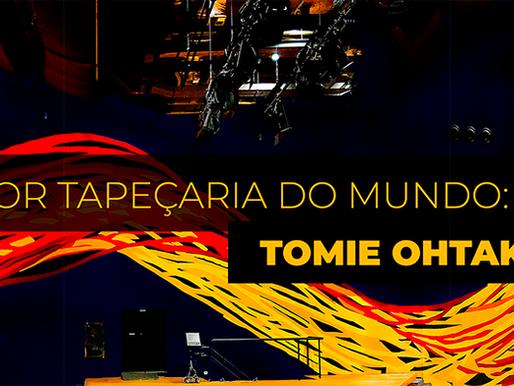 Tapeçaria de Tomie Ohtake é Refeita por Punto e Filo Tapetes