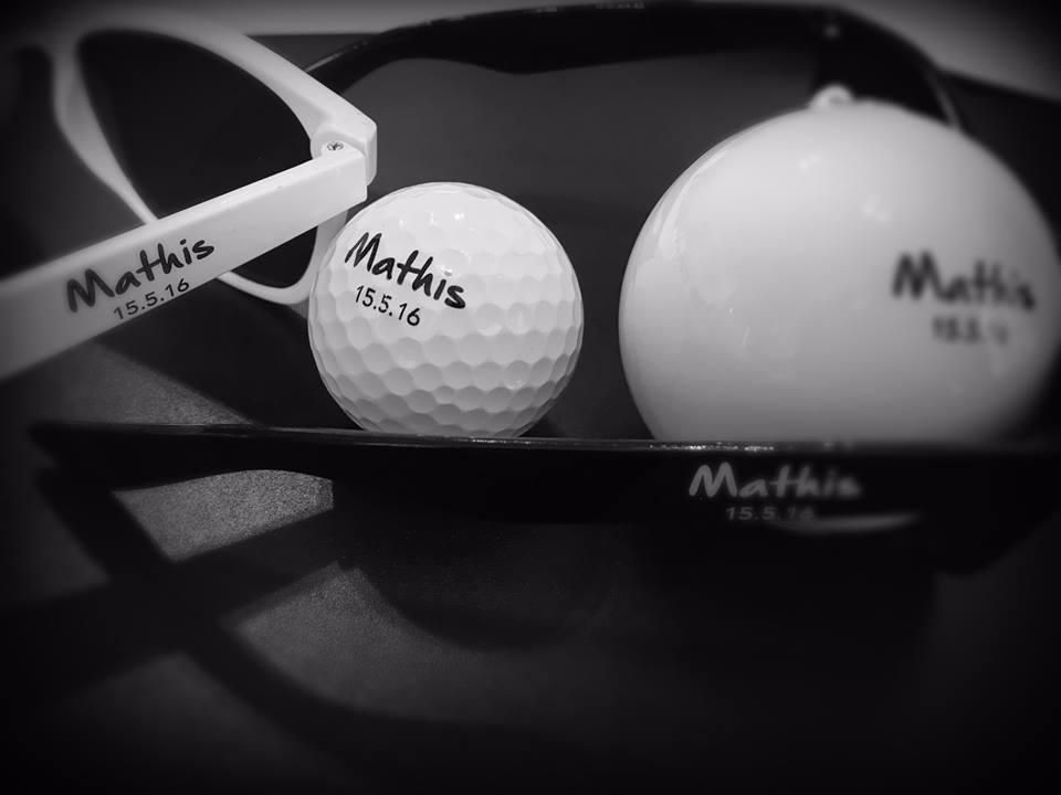 évènement anniversaire golf