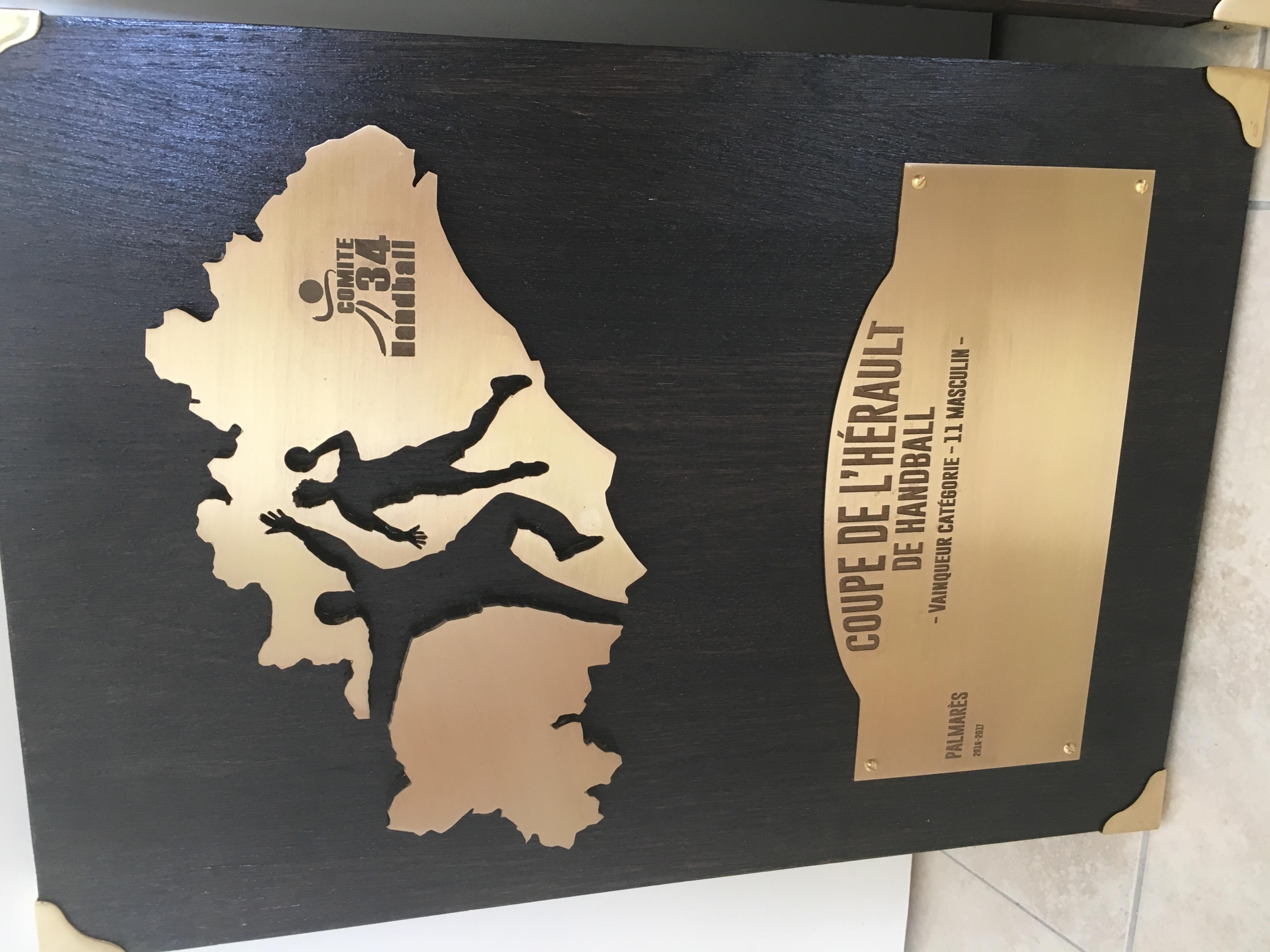 trophée sur mesure