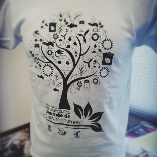 t-shirt évènementiel