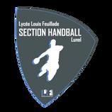 création logo lycée section handball
