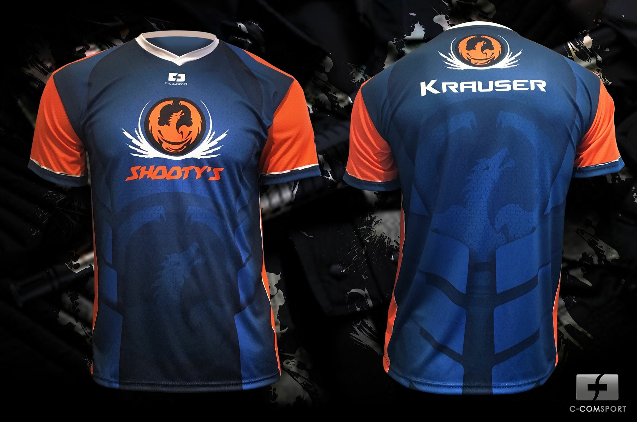 maillot sublimé Counter Strike