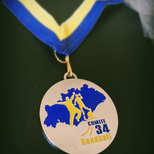 médaille comité hérault handball.JPG