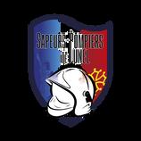 logo création graphique pompiers
