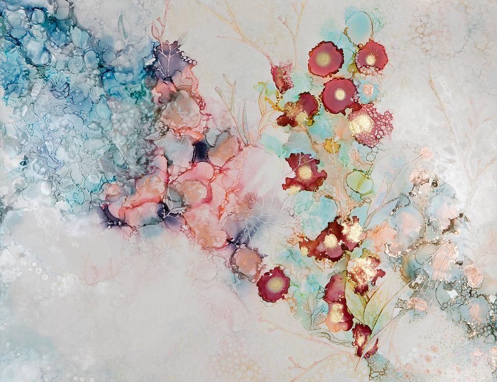 Original Art Collaboration - Pallas Snow