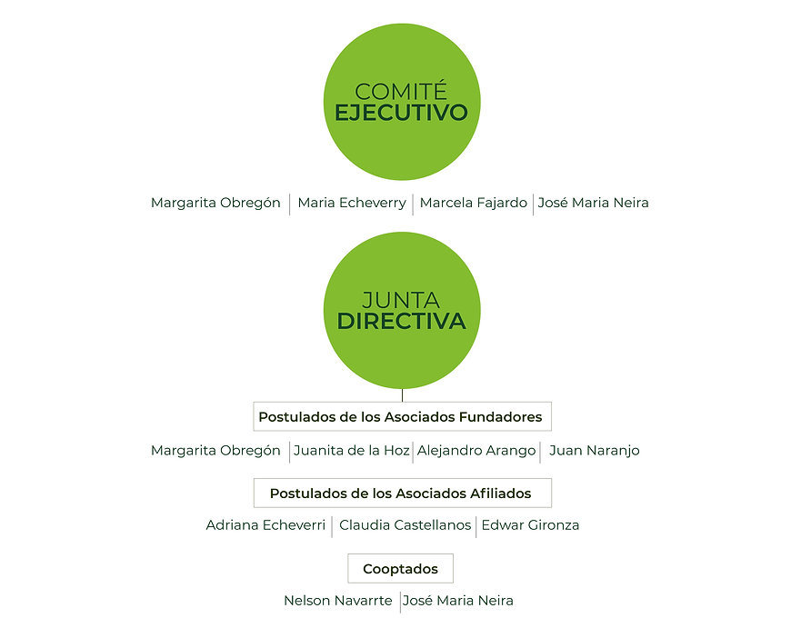 Junta directiva de la Fundación Ge