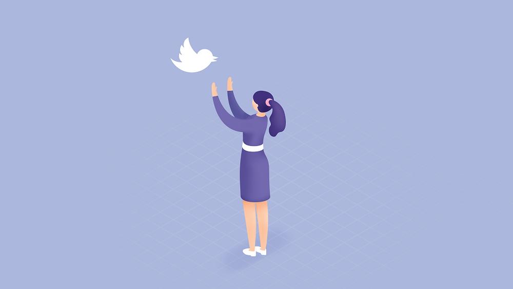 twitter logo customer service on twitter