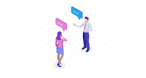 business-to-business B2B interaction conversation