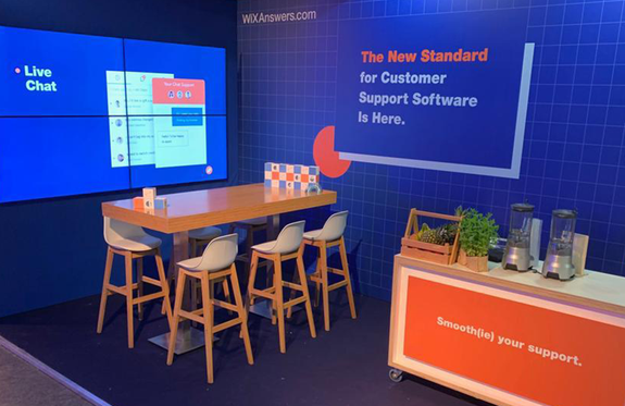 The Next Web Conference TNW 2019 Wix Answers Booth
