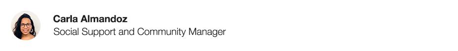 carla almandoz social support community manager