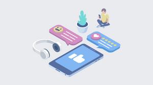 Offering customer support on social media