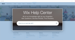 Make the search bar prominent in your knowledge base or help center