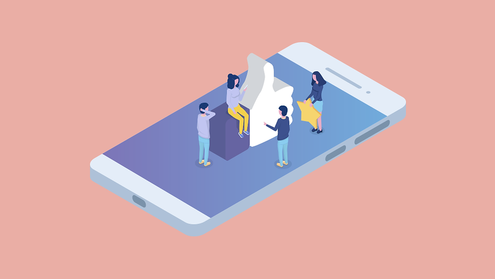 build and empower your customer service team smartphone thumbs up