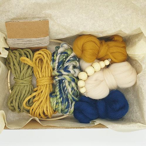 Round weave kit / Ocean sunset