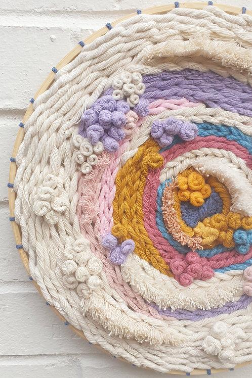 Large round weave