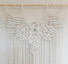 macrame eagle pattern