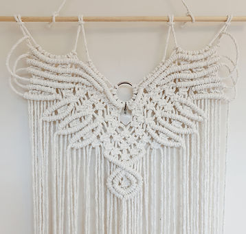 macrame eagle pattern
