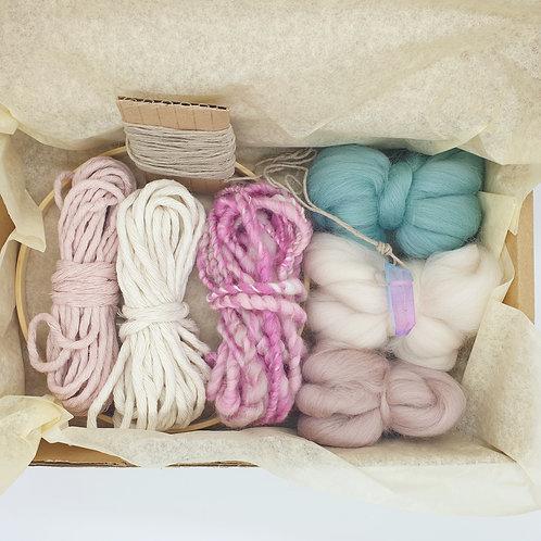 Round weave kit / Unicorn