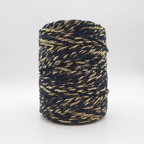 Black/Gold Sparkle! 50 meters