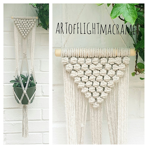 Berry knot plant hanger