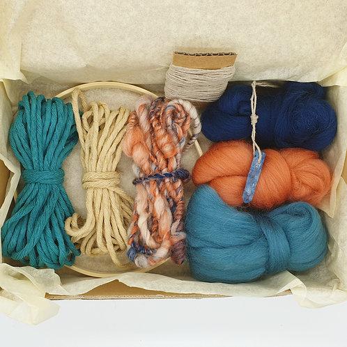 Round weave kit / Sunset