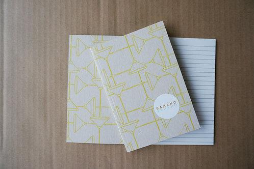 Notebook shoemaker A6 gul