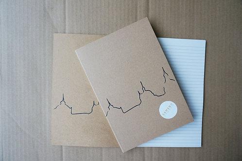 Notebook Castle A5 Blå