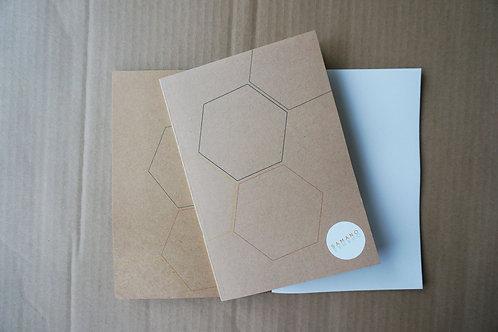 Notebook Hexagon A5