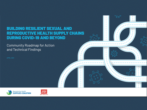 New report examines the strengths and weaknesses of SRH supply chains during COVID-19