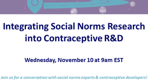 Social Norms and Contraceptive R&D