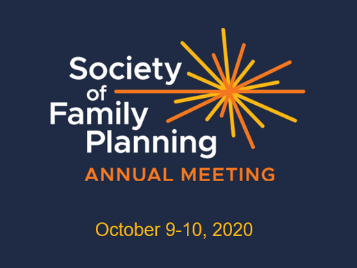 Society of Family Planning Annual Meeting features several contraceptive R&D presentations