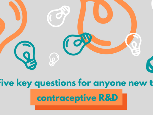Five key questions for anyone new to contraceptive R&D