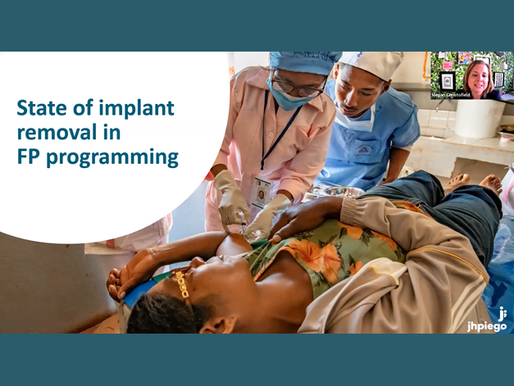 Access to Implant Removal: Findings from the Field