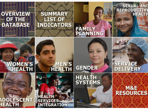 M&E enthusiasts- access the Family Planning and Reproductive Health Indicators Database through D4I!
