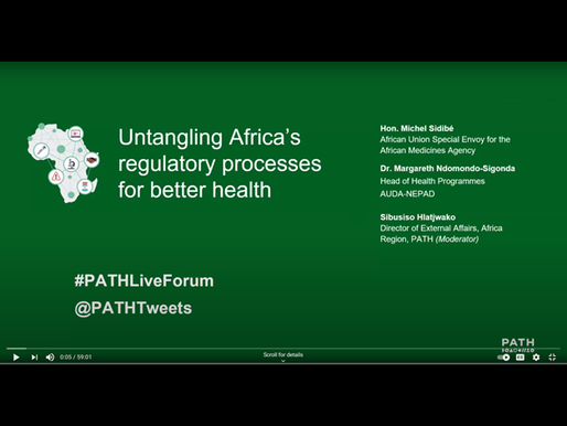 PATH hosts forum on untangling Africa's regulatory processes for better health
