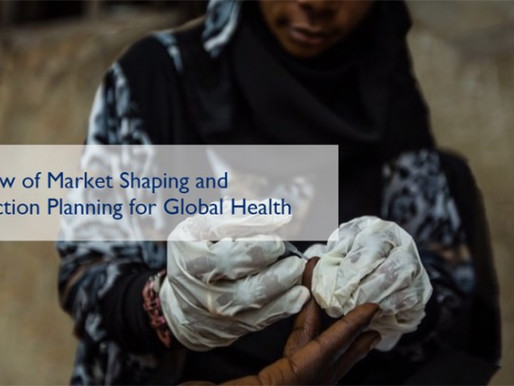 Free e-learning course on market shaping and introduction planning for global health