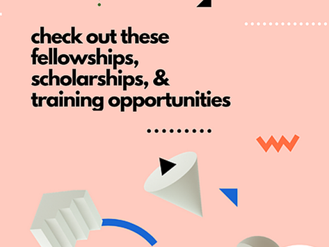 Advance your contraceptive R&D career with these training, fellowship, and scholarship opportunities