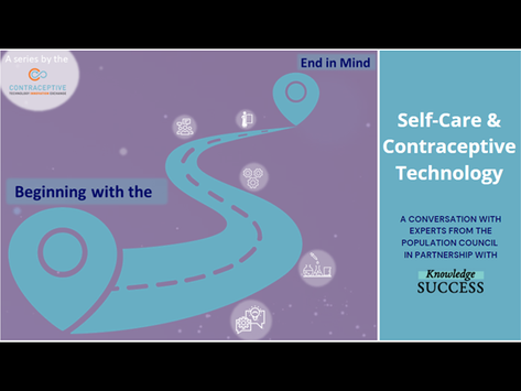 Self-Care and Contraceptive Technology
