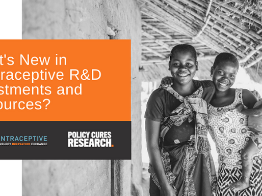 Wondering What's New In Contraceptive R&D Investments & Resources? Check out the event recording!