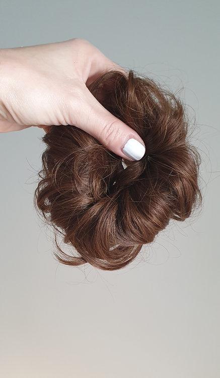 Scrunchie Medium Brown / European Hair
