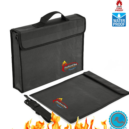Fireproof Bags For Documents & Valuables