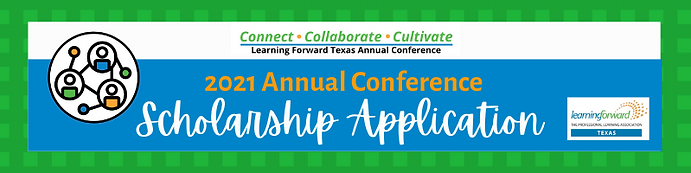 2021 Annual Conference Scholarship Form.