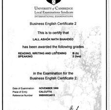 University of Cambridge - Business Communication